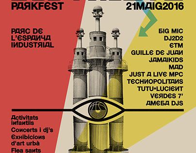 DISTRICTE PARKFEST 2016 Electronic music festival