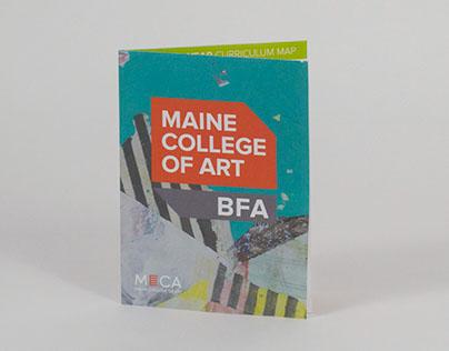 Maine College of Art BFA Trifold