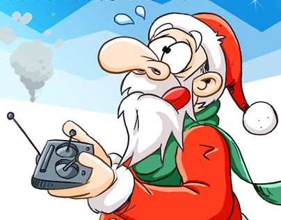 Cartoon Christmas Cards