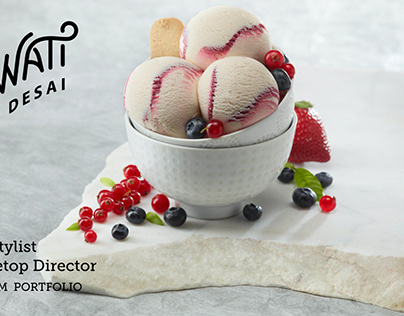 Food Stylist Swati Desai Icecream Portfolio