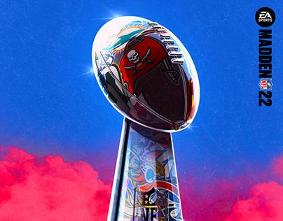 EA Sports Madden Social Illustration