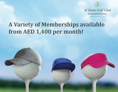 Al Badia Golf Club Membership