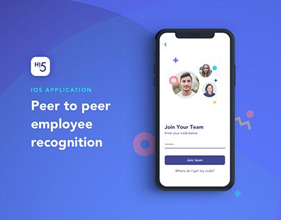 Hi5 - A Peer Review App