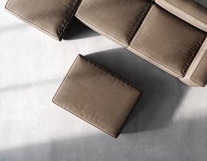 sofa COSIMA Bolia | 3D Model