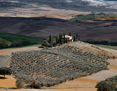 Designs and colors, from Tuscany