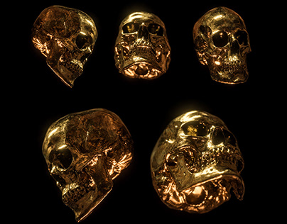 Billelis Skull Photo Stock Pack