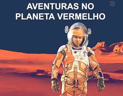Aventuras no Planeta Vermelho - The Martian