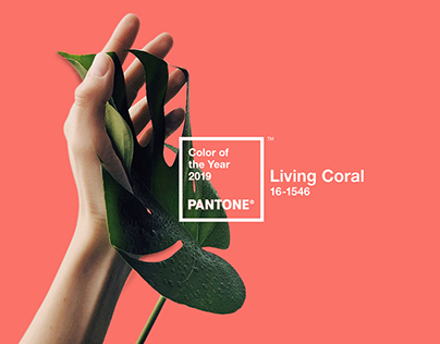 LIVING CORAL : Pan-tone Color of the year 2019