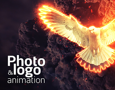Fire Explosion Logo & Photo Animation