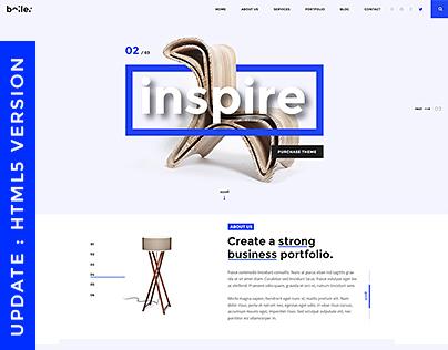 Boiler - Creative Agency PSD & HTML5 Template