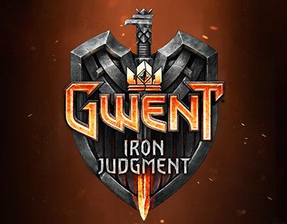 GWENT expansion logotype - Iron Judgment