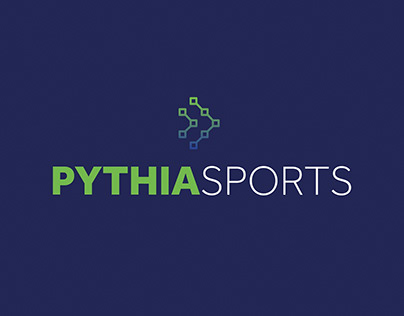 Pythia Sports Brand Identity