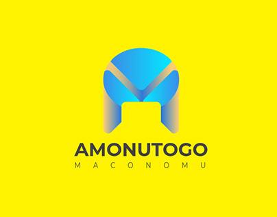Letter A+M logo design