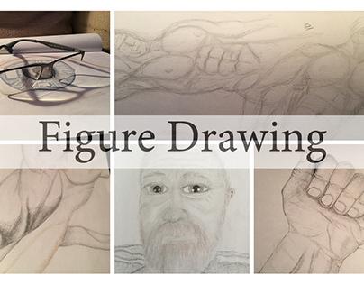 Sandpaper Figure Drawing