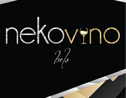 Nekovino II White wine packaging