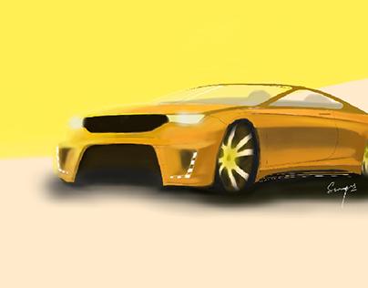 Car Sketchbook 1