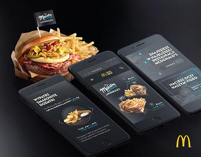 McDonald's Maestro Burger