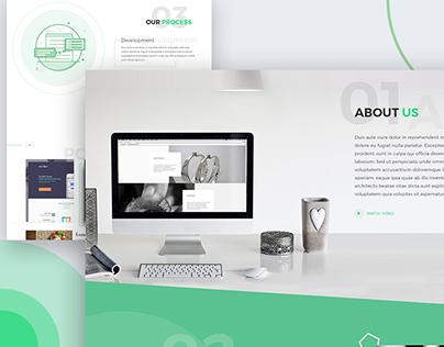 SOLO Landing Page Design