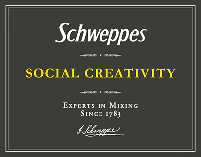 Schweppes - Social Network Creativity Italy