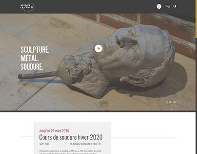School Project - Foundry Workshop website