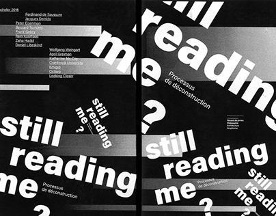 STILL READING ME ?
