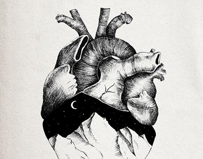 Mountain heart