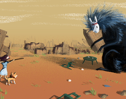 'Ajiaco game' Concept art
