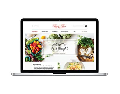 Busy Bee Food Company Web Design