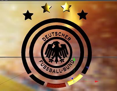 """3D Logo Animation """"DFB"""" Deutscher Fussball-Bund"""