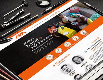 Alfa Tasarım Web Site Tasarımı
