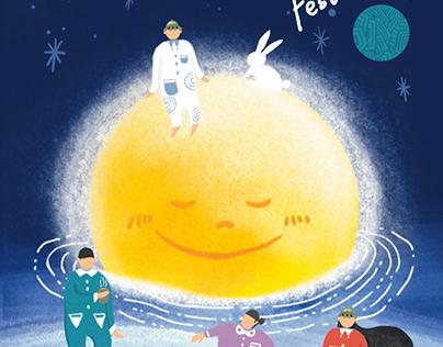 2021.The Moon Festival Postcards