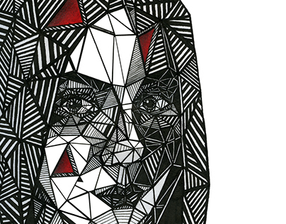 Triangular portrait