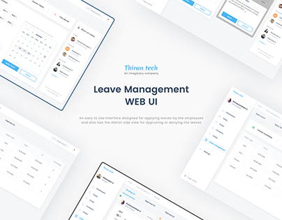 Leave Management :: Web UI