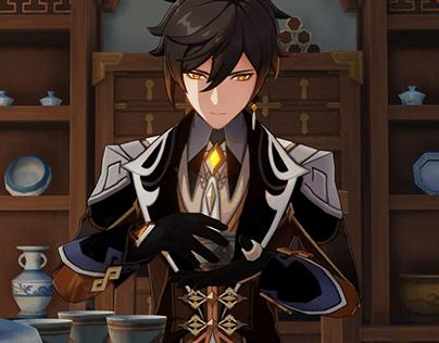 Genshin Impact: Best Build for Character Zhongli