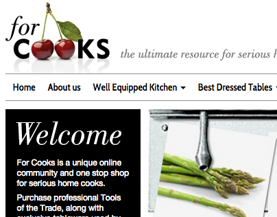 For Cooks : forcooks.co.uk