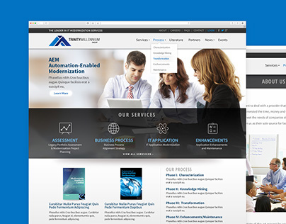 Trinity Millennium Group Website