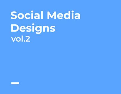 Social Media Designs Vol.2