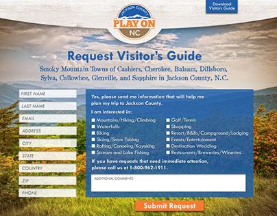 Jackson County North Carolina Landing Page