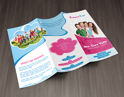Best Child Care Tri-fold Brochure