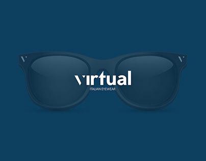 virtual - Italian Eyewear   Logo Design
