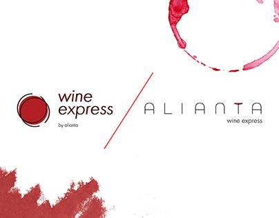 Alianta Wine Express logo