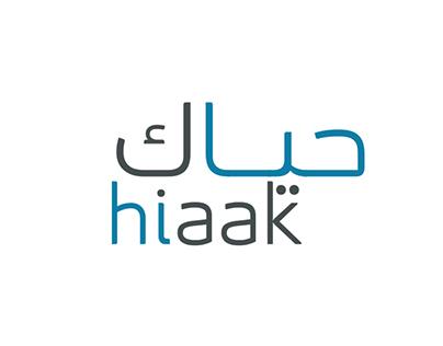 hiaak.com Branding