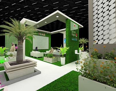 conceptual design for Bapco Garden show @BIGS 2019