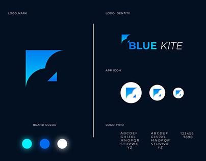Kite logo design / Kite logo / B letter logo