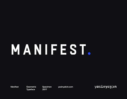 Manifest Typeface — Free Demo
