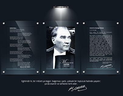Atatürk Köşesi (Milli Levhalar)