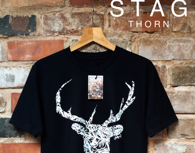 STAG THORN TSHIRT AND JUMPER