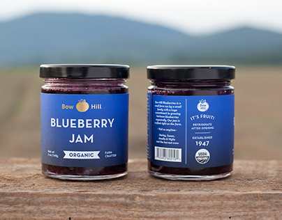 Bow Hill Blueberries Re-Brand
