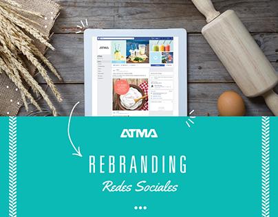 ATMA - Rebranding Identidad Redes Sociales