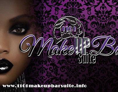 1101 Make Up Bar/Suite Branding: Web & Print